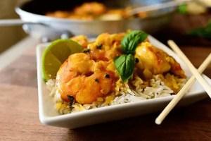 curry de gambas3 - Pescados y mariscos con Thermomix