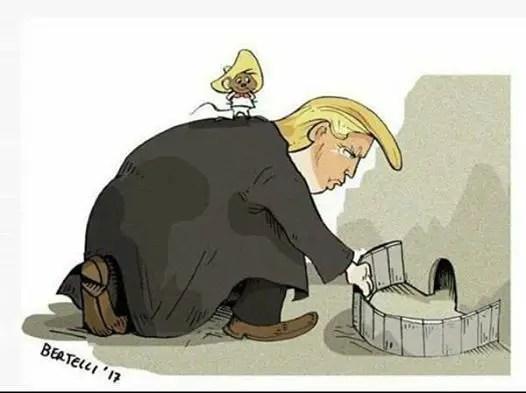 Trump - 5 razones de Donald Trump para constuir el muro entre Mexico y Estados Unidos