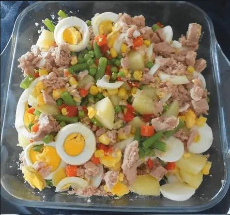 ensalada rusa a mi manera - Albondigas vegetarianas de lentejas