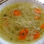 sopa con fideos vegetariana - Recetario (A-Z)