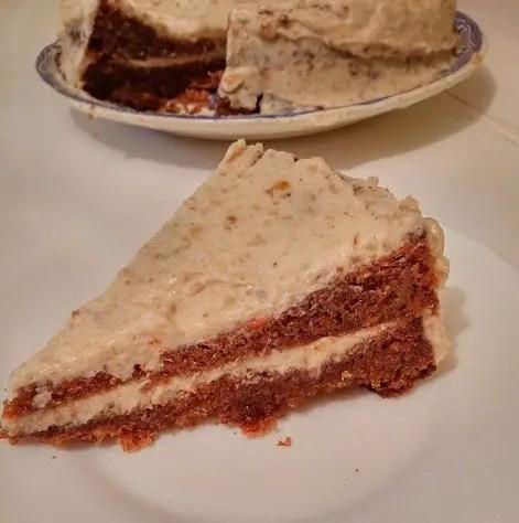 tarta de zanahoria - Tarta de zanahoria o carrot cake