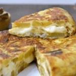 tortilla de patata con queso - Recetario (A-Z)