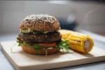 Hamburguesa de quinoa con vegetales en Thermomix