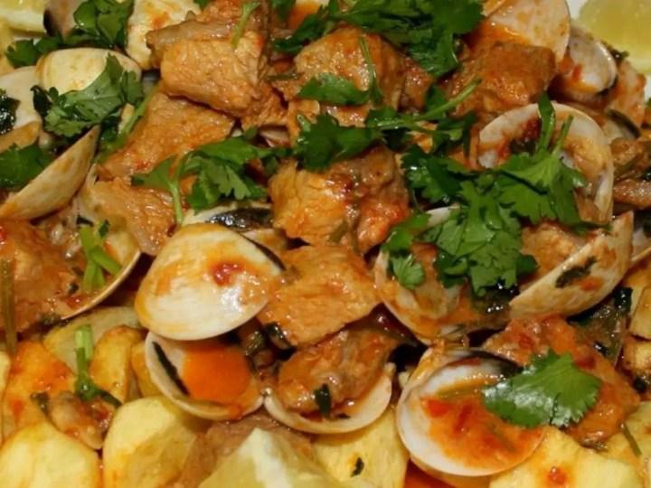 CARNE DE PORCO ALENTEJANA - Carne de cerdo con almejas