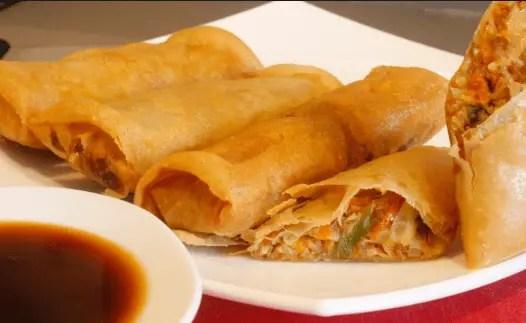 Comida china – rollitos de primavera