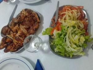pollo asado Portugal - Recetas tradicionales de carne