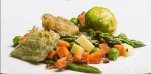 tortilla de menestra de verduras - Recetas de entradas tradicionales
