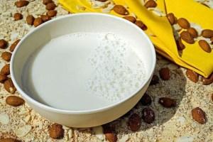 leche de almendras vegana - Bebidas con Thermomix