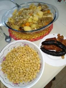 cocido madrileño - Recetas tradicionales de carne
