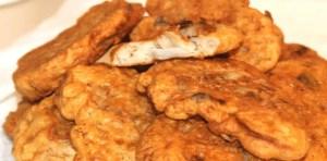 Bacalao empanado con salsa holandesa - Recetas tradicionales de pescados y mariscos