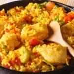 paella de pollo con verduras Thermomix - Recetario (A-Z)