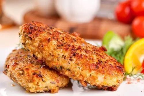 galletas de pescado - Tapas fáciles y baratas con restos de pescado