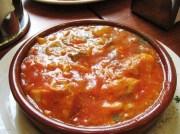 bacalao con pisto - Bacalao en salsa de pisto olla JRD