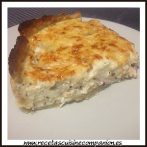 quiche porcion