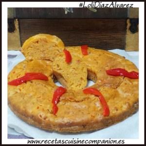 pastel de atun y pimientos