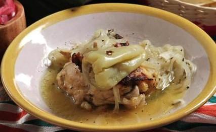 Pollo en escabeche oriental  Recetas de cocina Fciles Rpidas y Saludables