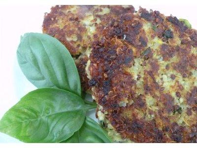 Receta saludable Hamburguesas de Quinoa  recetasdecocina
