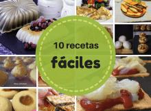 10 recetas fáciles