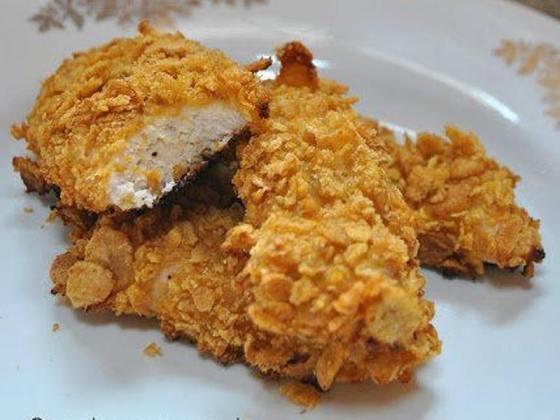 pollo crujiente con miel