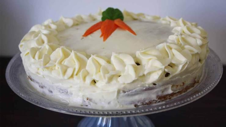 tarta de zanahoria carrot cake