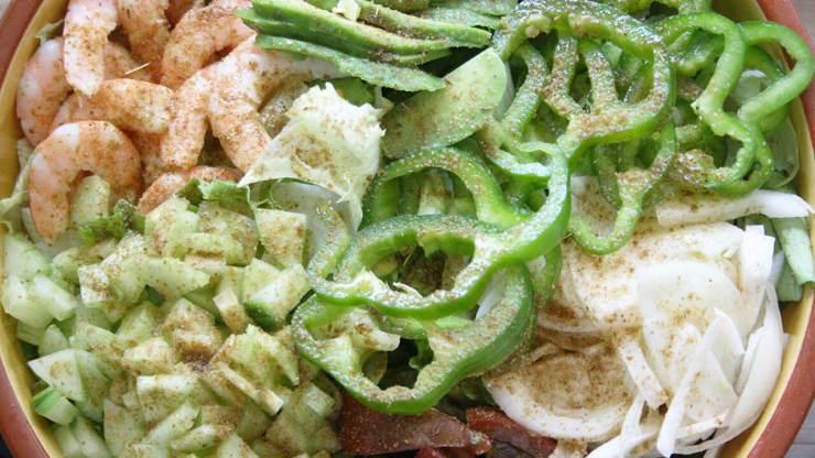 ensalada tanzana