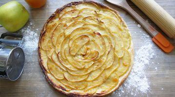 tarta de manzana fina