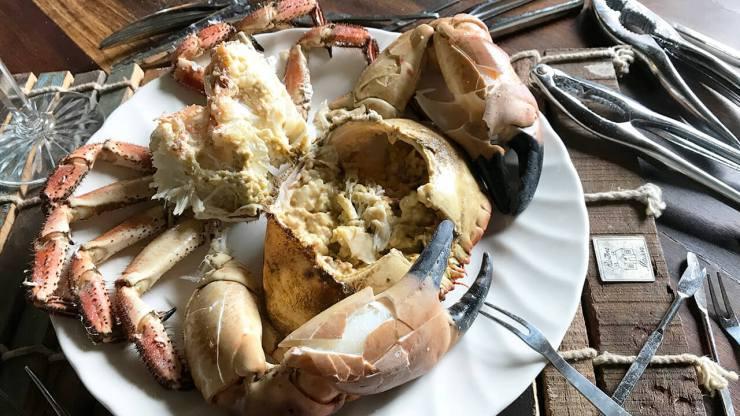 cómo cocer buey de mar