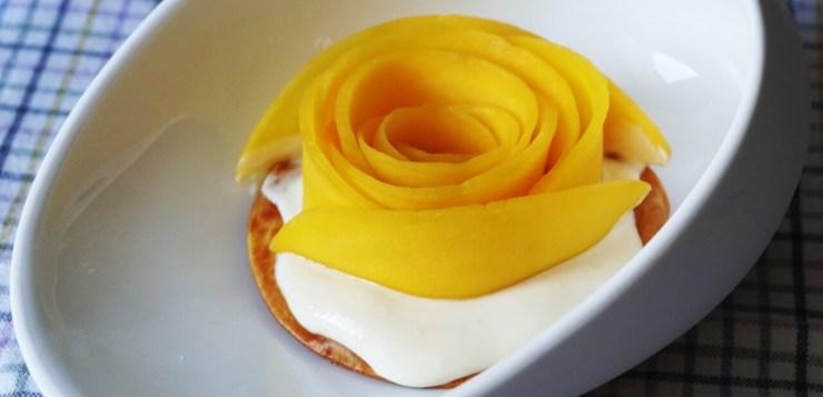 Tartaletas de mango