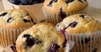 Muffins fit arándanos y avena