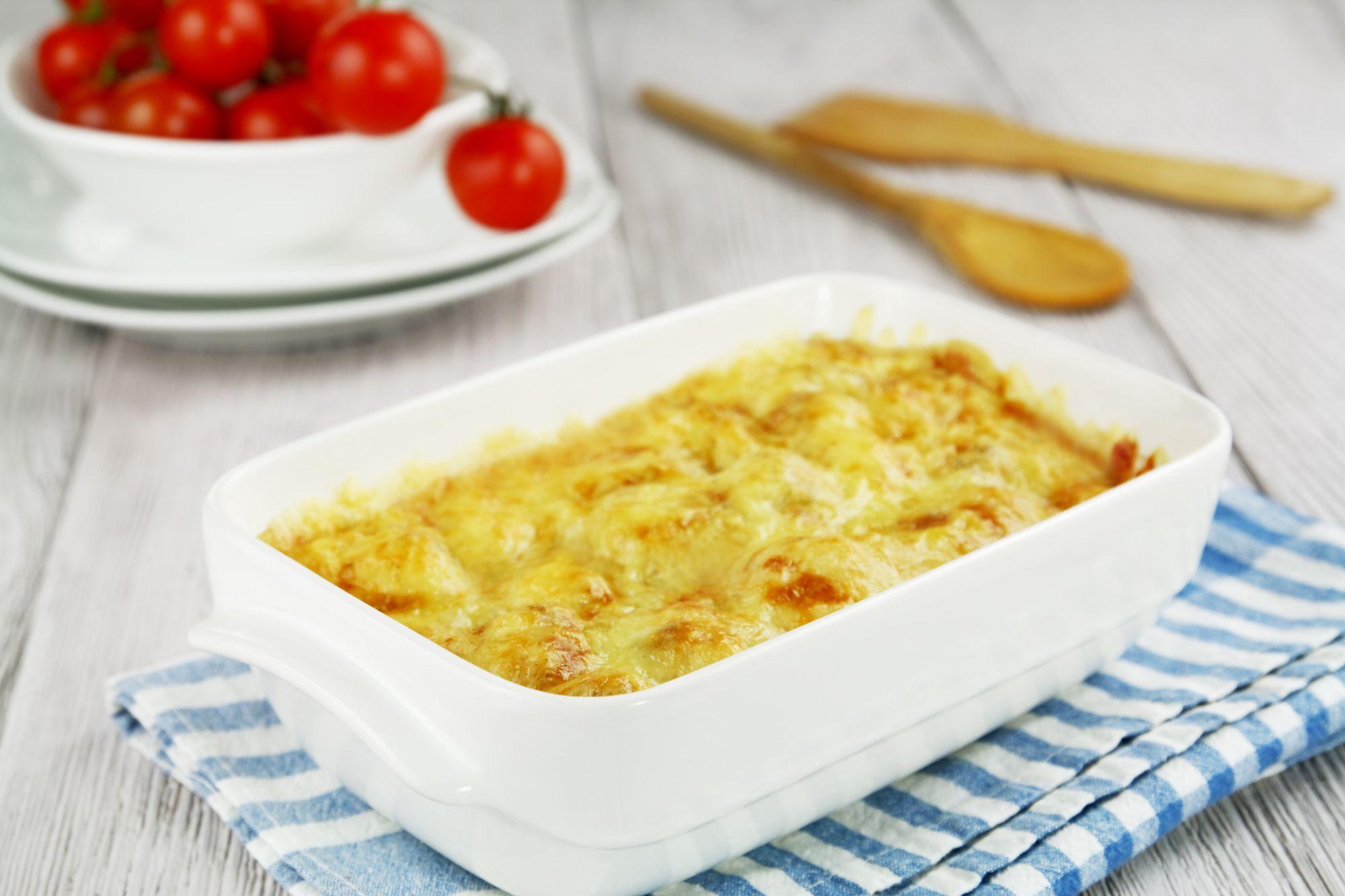 Pudin de verduras y queso