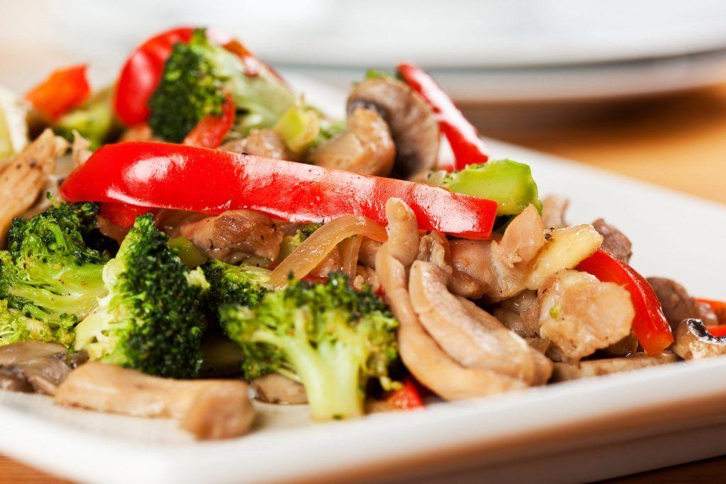 tarritos de pollo con brócoli