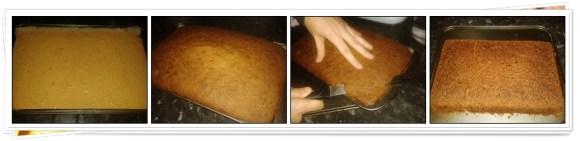 Preparación Bizcocho de Zanahoria