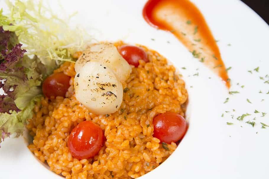 guiso de arroz con tomate