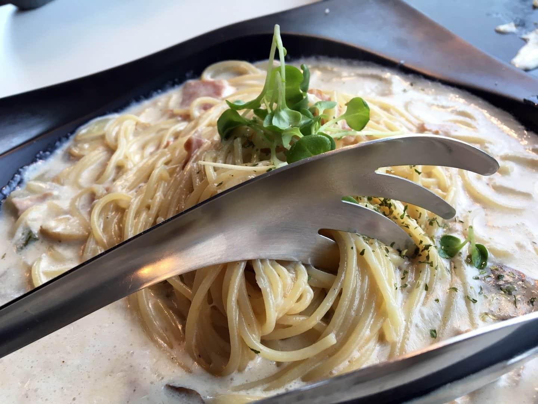 Pasta Italiana con Pollo tetrazzini