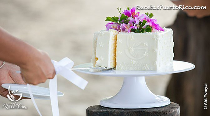 Wedding Cake Recipe.Puerto Rican Cake