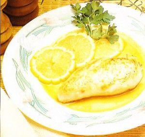 receta de pollo al limon