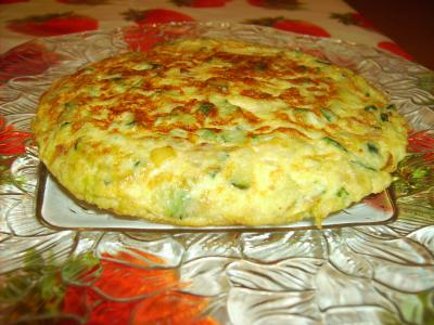 Tortilla de Calabacines (6 personas)