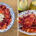 Ensalada Primaveral de Remolacha y Zanahoria