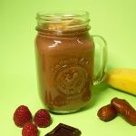 Smoothie de chocolate y plátano