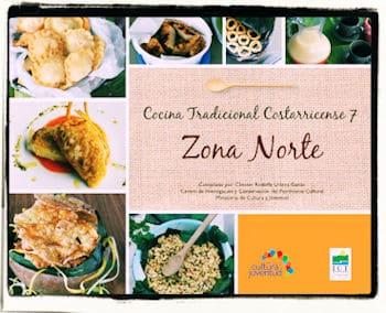 recetario de cocina tradicional costarricense de la zona