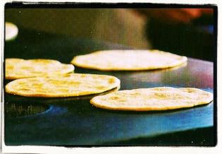 Tortillas palmeadas
