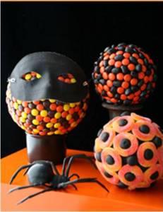 receta botana halloween