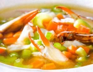caldo de cangrejos