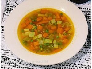 receta de sopa juliana