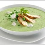 Sopa de chícharo verde