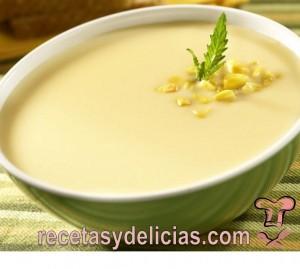 receta de crema de elote