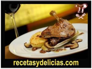 receta de pato en salsa de nabo