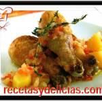 Receta de Pollos con zanahoria