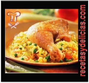 receta de arroz con pollo