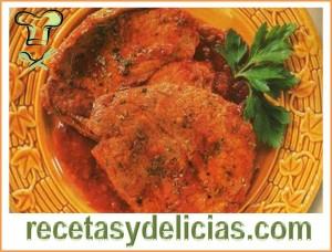 receta de filete entomatado
